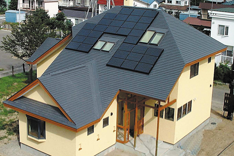 イメージ図/太陽光発電システム設置